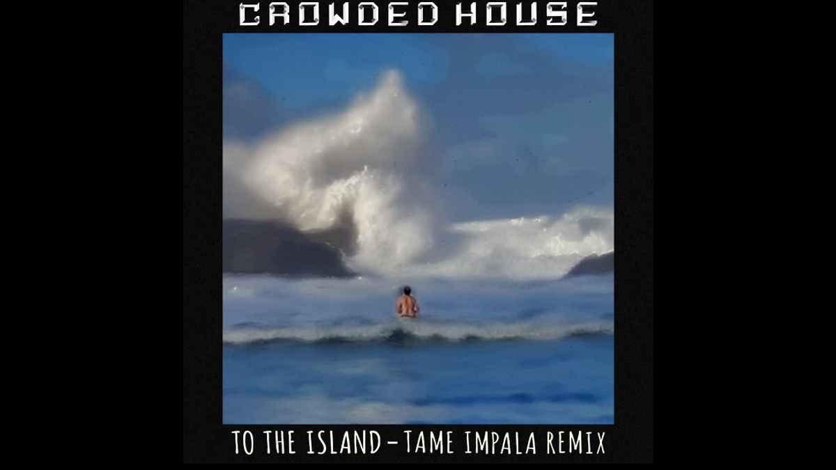 Crowded House remix cover art