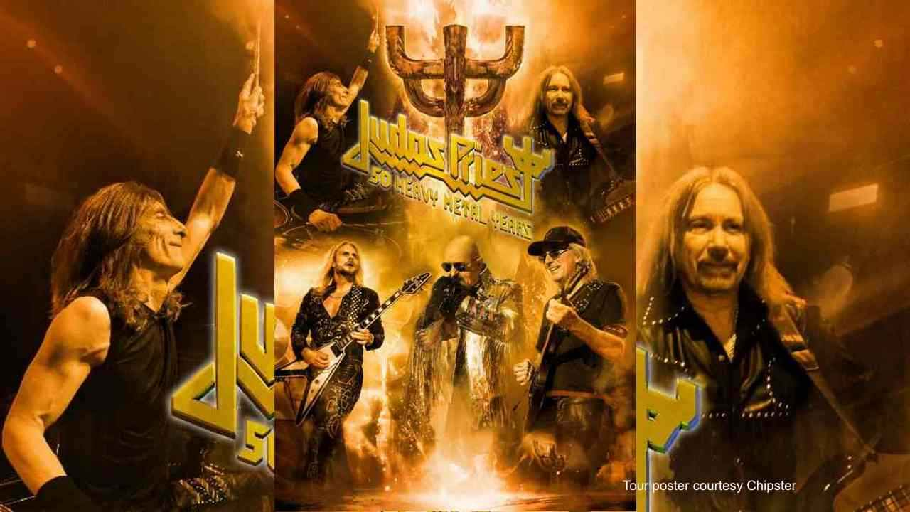 Judas Priest tour poster courtesy Chipster