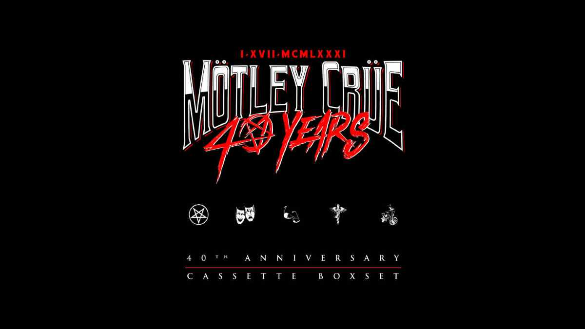 Motley Crue box set artwork