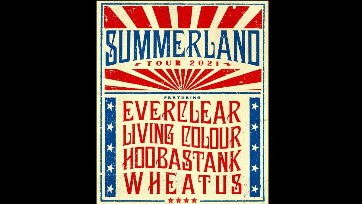 Everclear tour poster