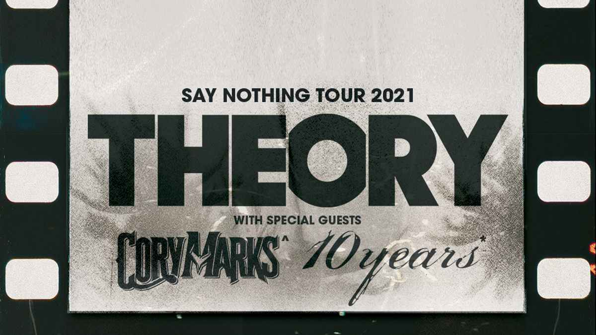 Theory tour poster